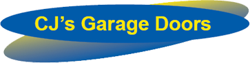 CJ's Garage Doors Logo