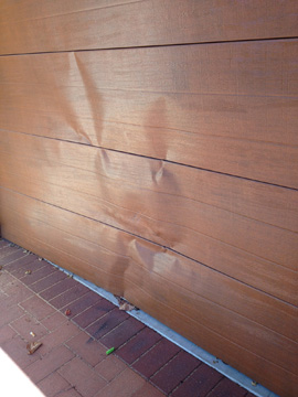 Car Damaged Garage Door